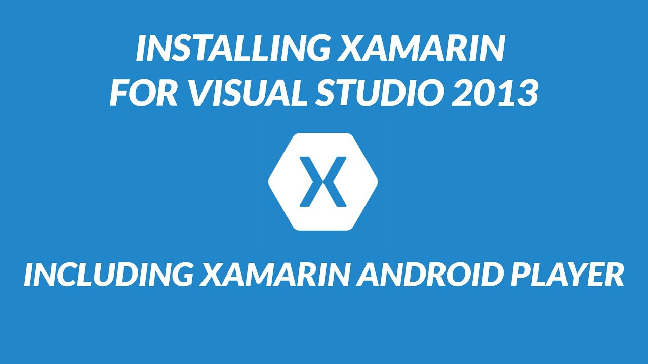 xamarin android player tutorial