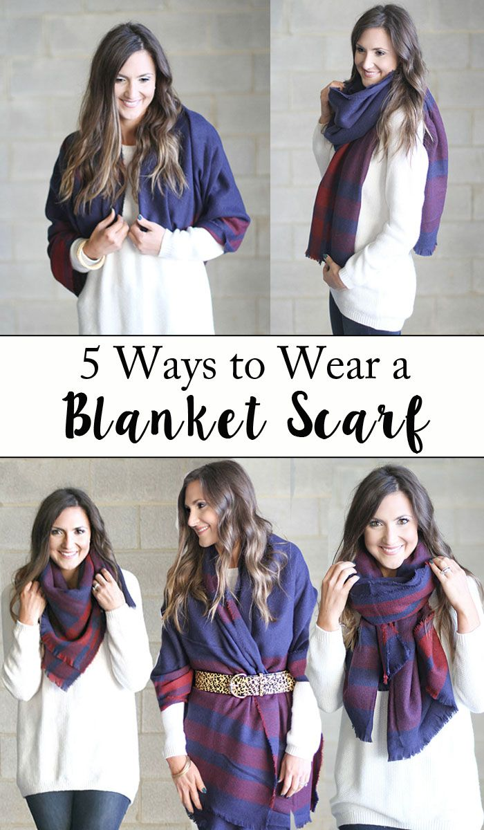 grace and lace blanket scarf tutorial