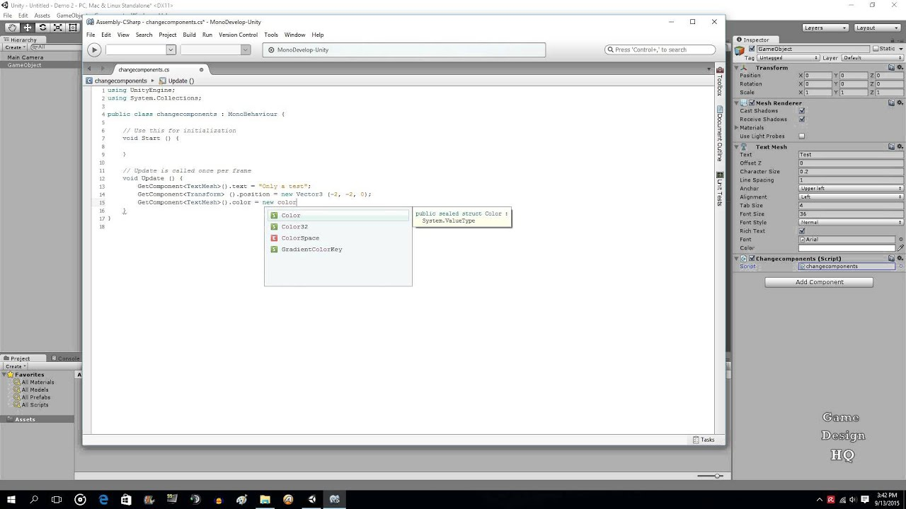 c# tutorial with examples