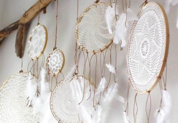 how to make a tree of life dreamcatcher tutorial